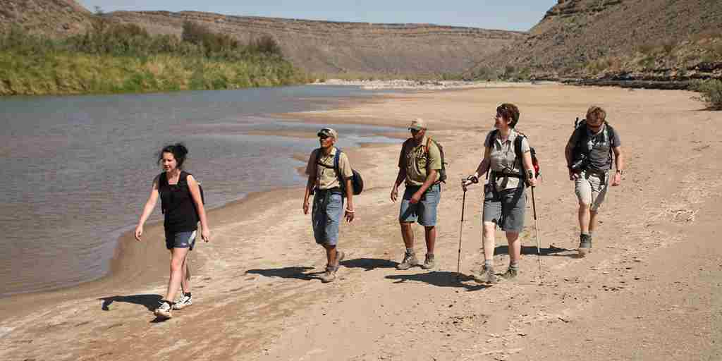 Hiking along the Fish River.JPG