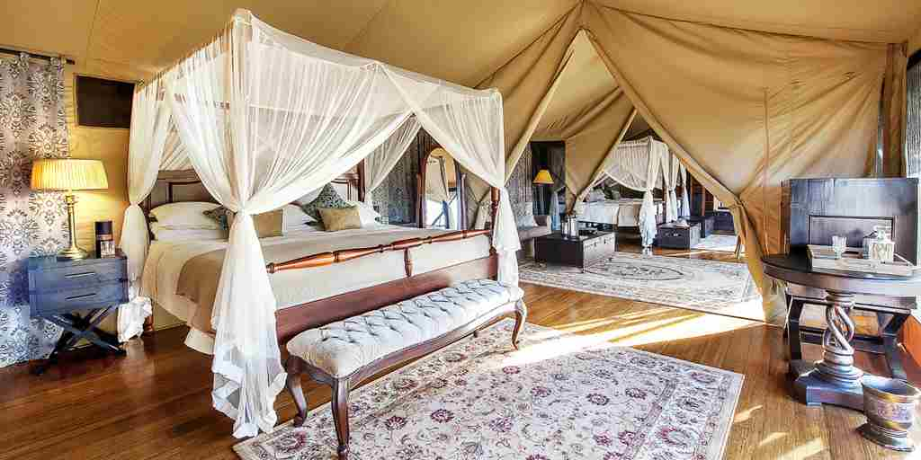 family tent interior reversed