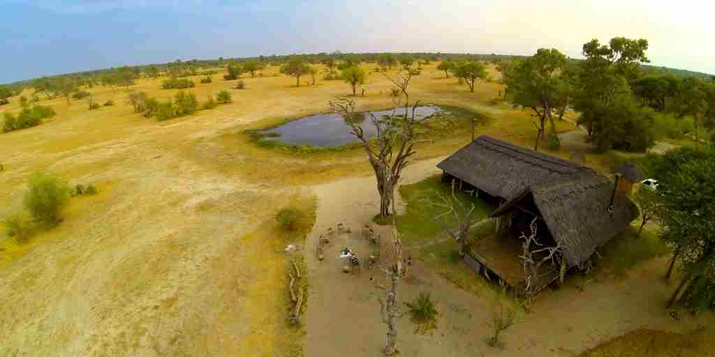 6. Imvelo Safari Lodges   Bomani Tented Lodge   Arial view