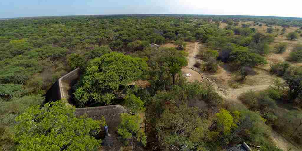 5. Imvelo Safari Lodges   Camelthorn Lodge   Arial View of Main Lodge