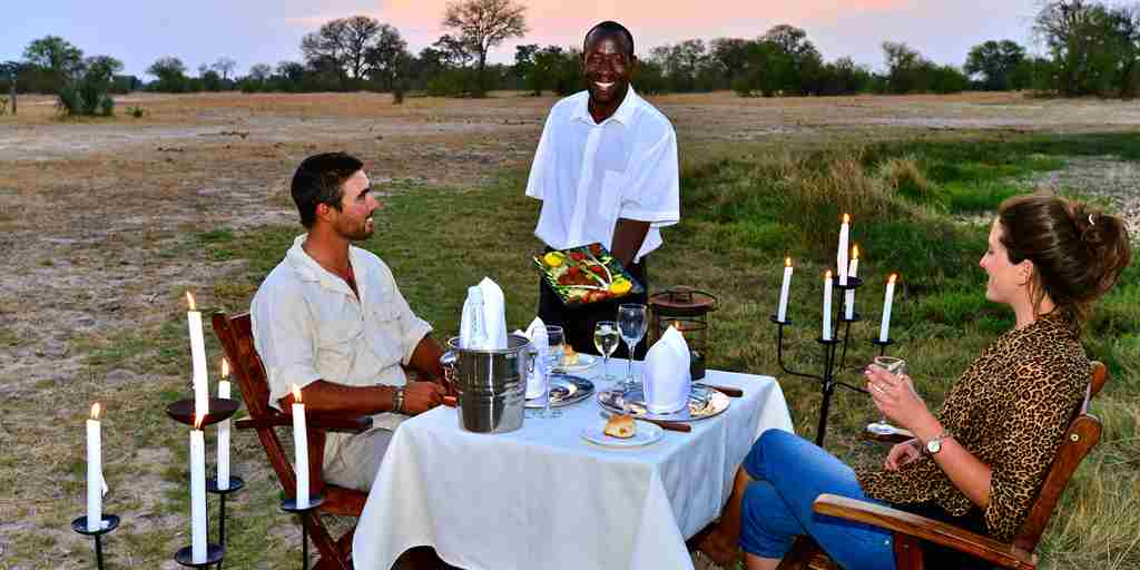 11. Imvelo Safari Lodges   Bomani Tented Lodge Outdoor Dining