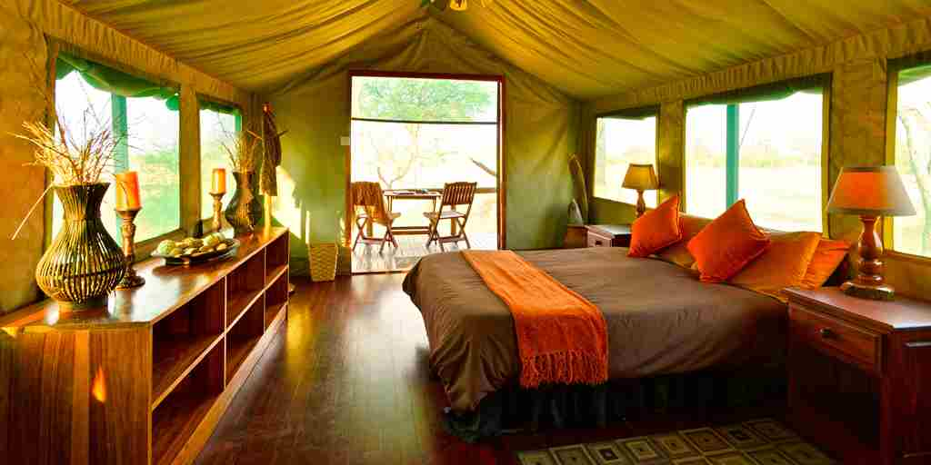 20. Imvelo Safari Lodges - Bomani Tented Lodge - Interior of Hornbill Tent.jpg