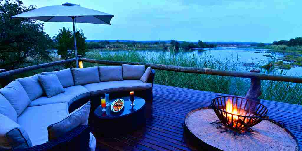 25. Imvelo Safari Lodges  Zambezi Sands Campfire
