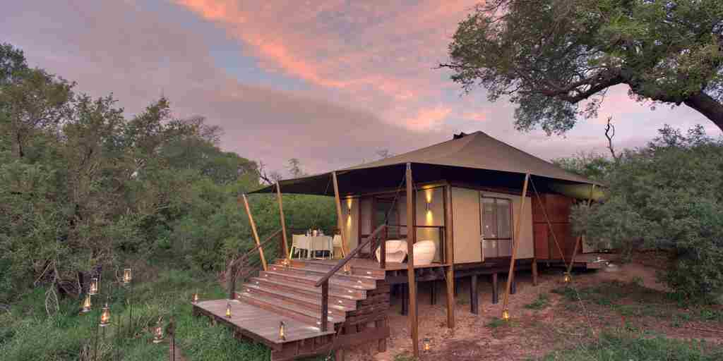 Exterior andBeyond Ngala Tented Camp South Africa