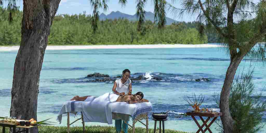 Outdoor Spa Massage
