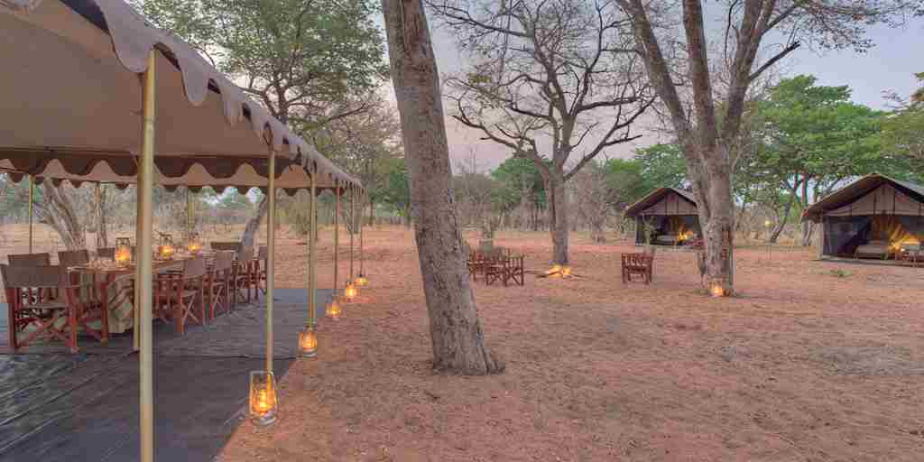 Chobe under canvas Guestarea4