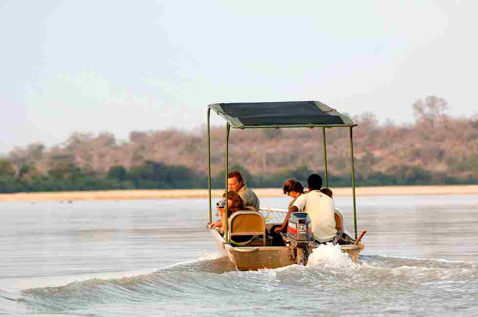 Sand Rivers Selous  boating - Nomad Tanzania.jpg
