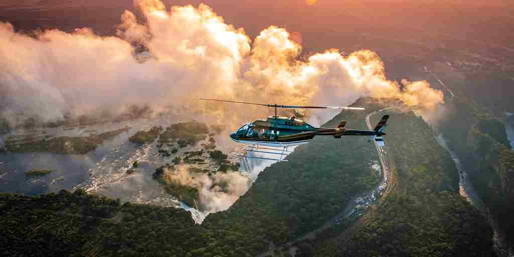 Victoria Falls Activities Helicopter