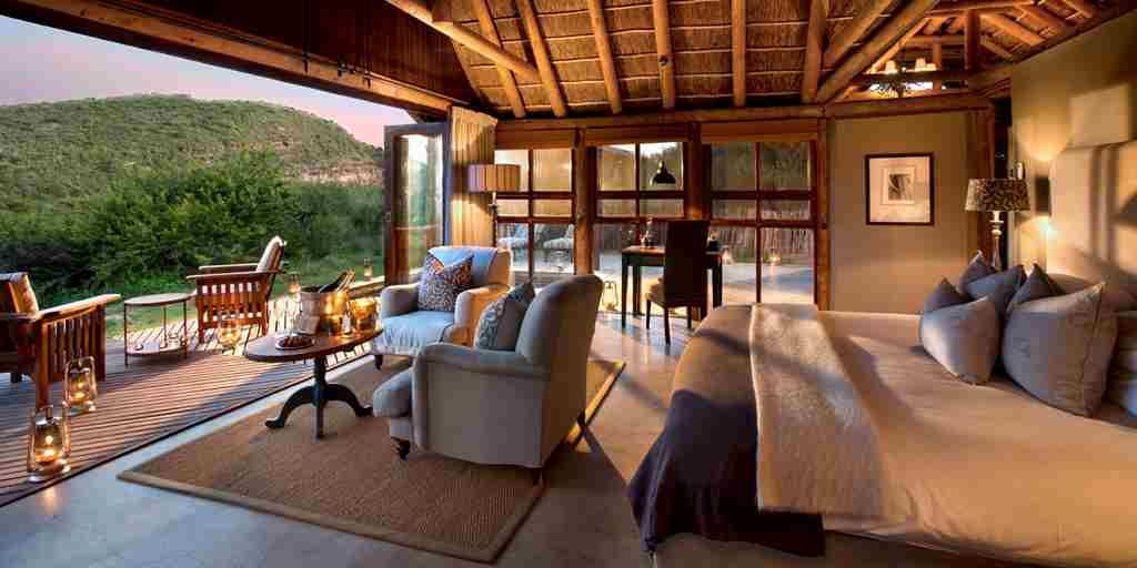 Kwandwe Great Fish River Lodge suite2