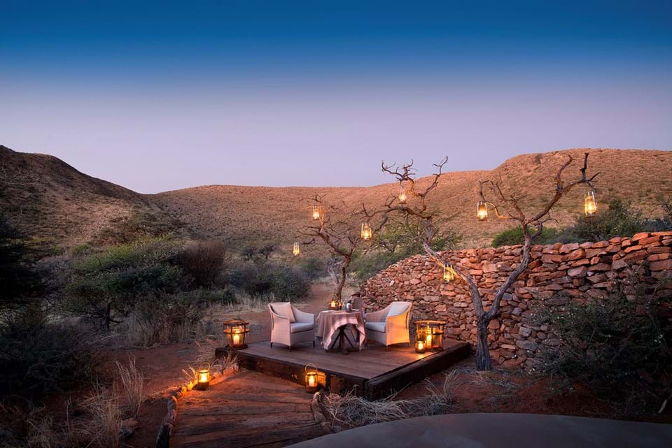 Private Candle-Lit Dinner at Tswalu Tarkuni, South Africa