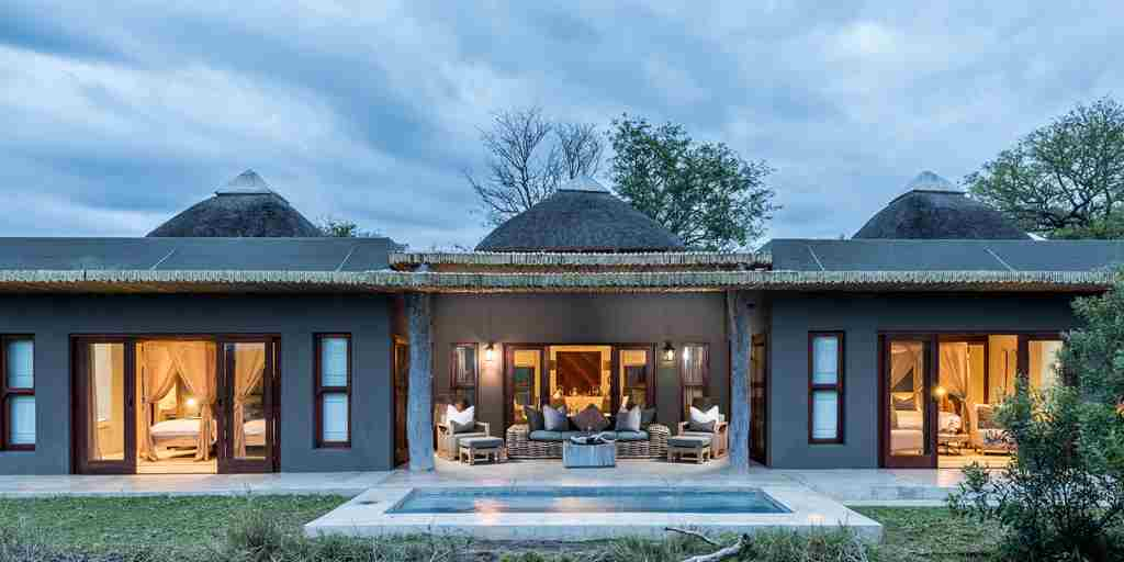 Bush Lodge Luxury Villa Exterior