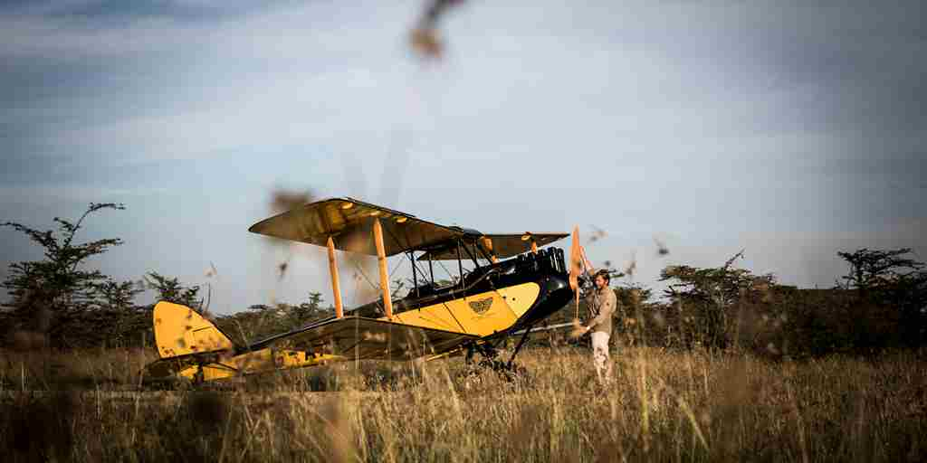 Plane in africa