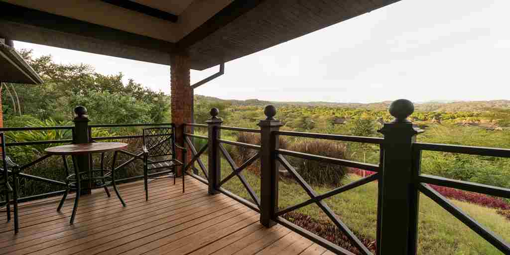 Deck View in africa