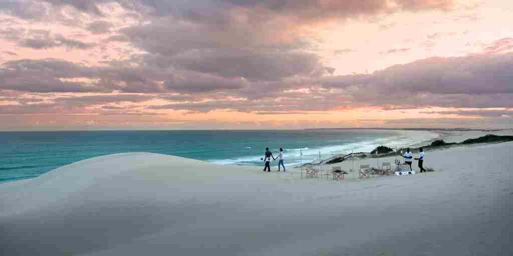 Sundowners with sandboard south africa