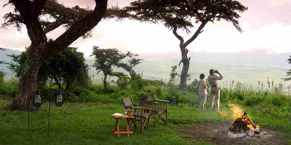 Luxury Tanzania couple safari