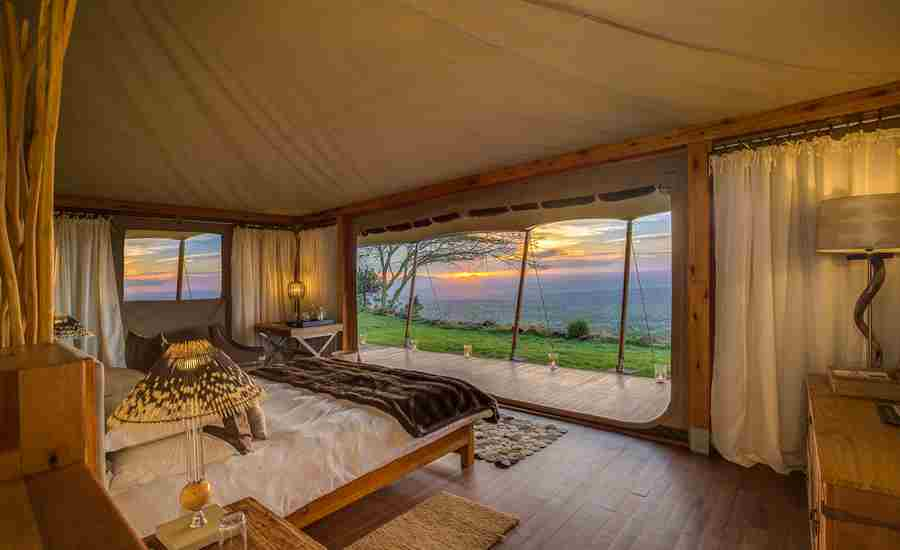 Loisaba luxury tents
