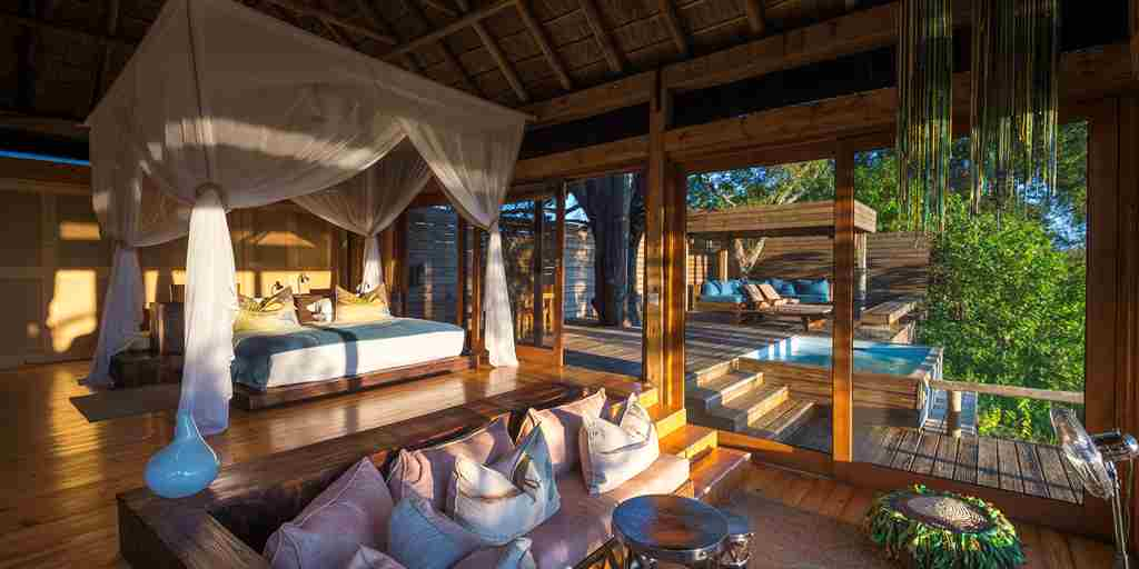 Vumbura Plains Botswana Bedroom Suite