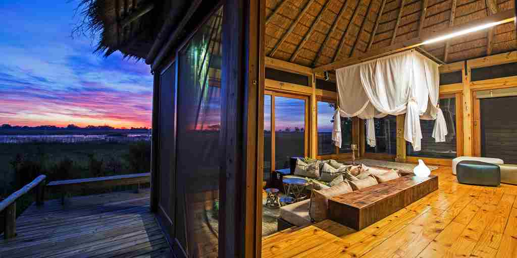 Vumbura Plains Botswana Bedroom Suite View