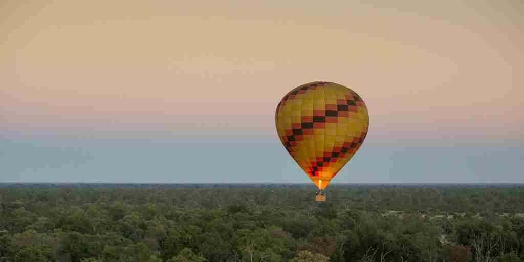 Vumbura Plains Botswana Hot Air Balloon Activity