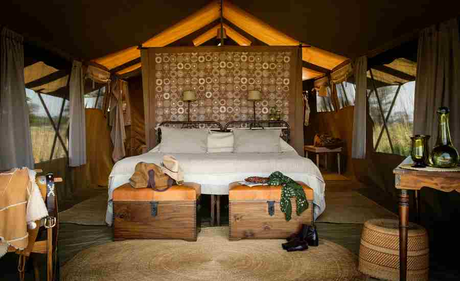 Serengeti Safari Camp Couple Bedroom