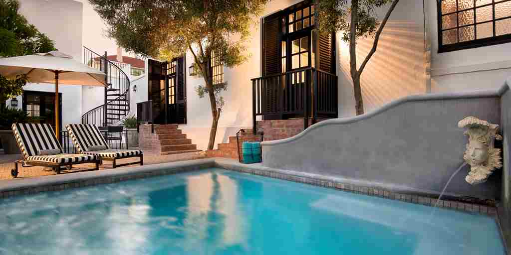 pool cape cadogan boutique hotel south africa