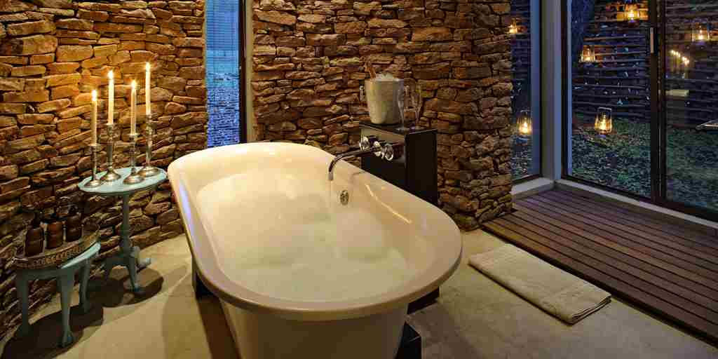 Phinda Zuka Lodge Bath Tub