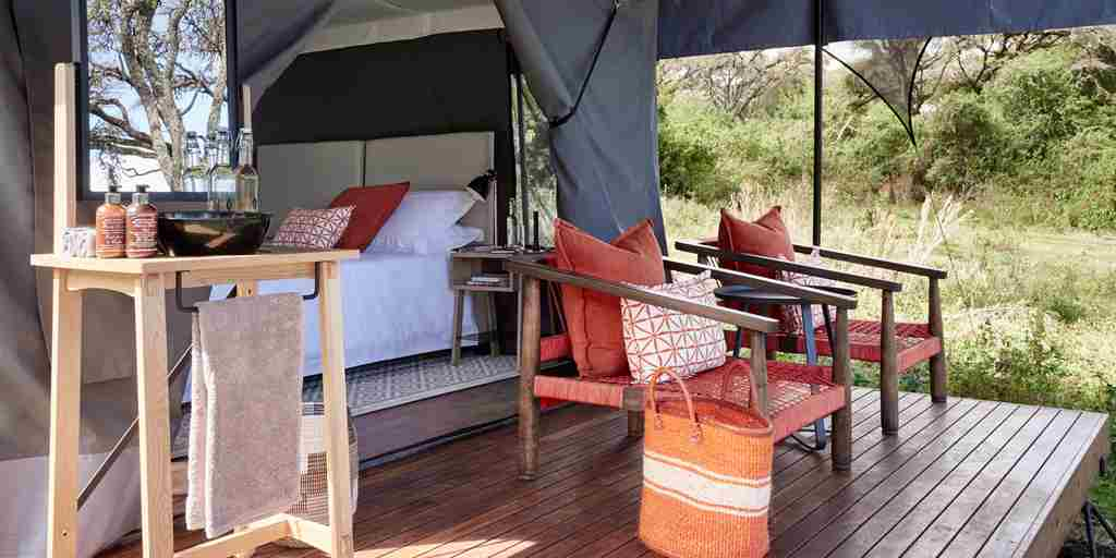 Sanctuary Ngorongoro Crater Suite Deck