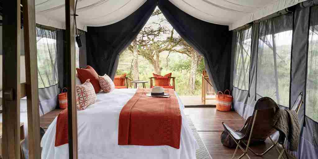 Sanctuaty Ngorongoro Carter Camp Double Room