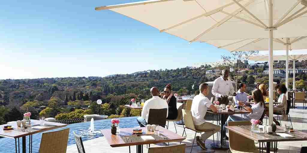 Flames Terrace South Africa Four Seasons