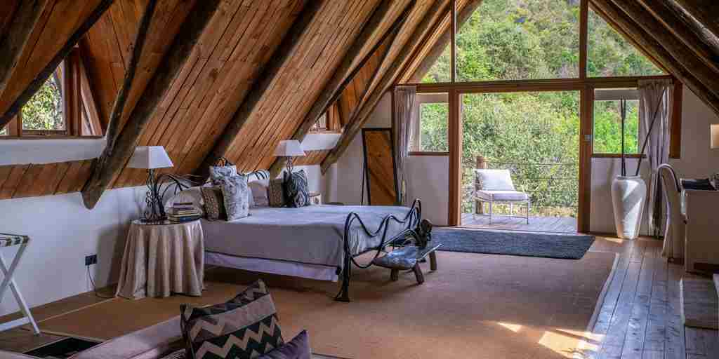 Cottars Bush Villa Double Bedroom