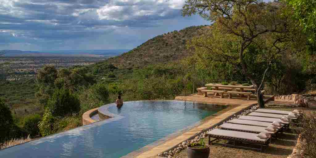 Cottars Bush Villa Pool