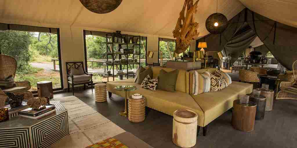 machaba safaris gomoti camp living room
