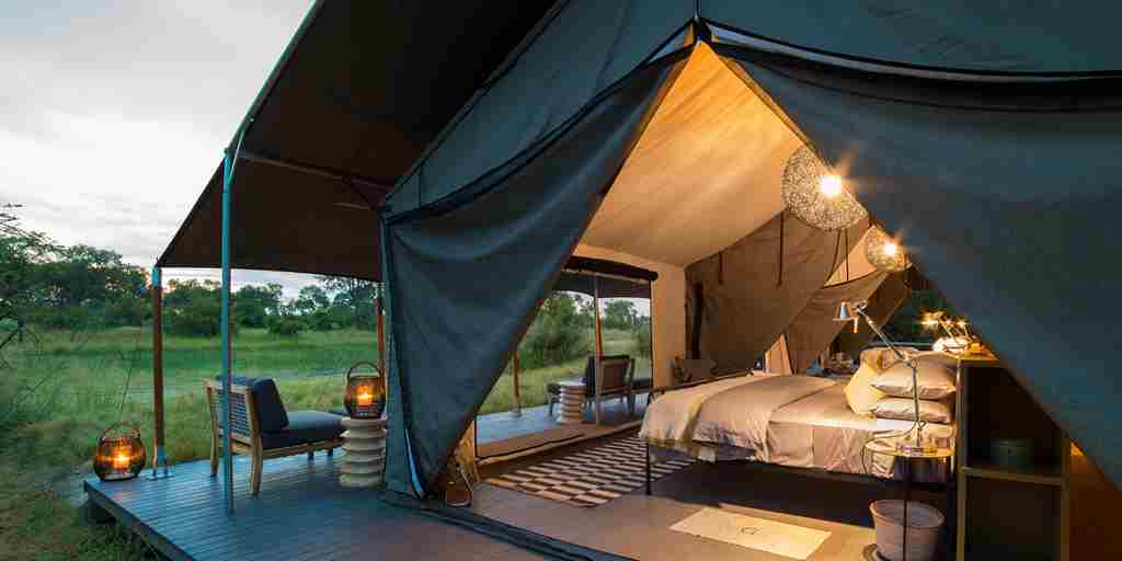machaba safaris gomoti camp room tent