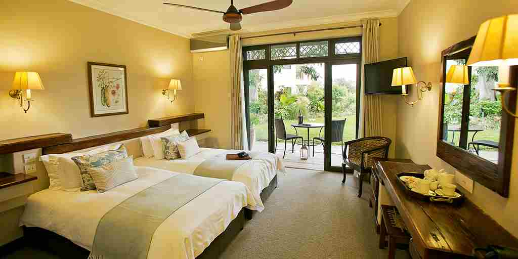 Ilala Lodge twin bed