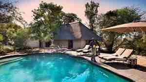 andBeyond Ngala Safari Lodge Family Suite pool