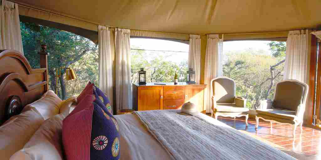 Thanda Tented Camp Bedroom