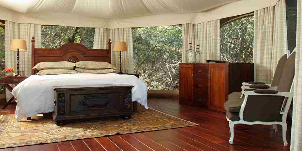 Thanda Tented Camp Bedroom South Africa