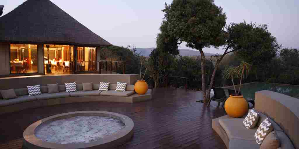 Thanda Tented Camp Outdoor Guest Area