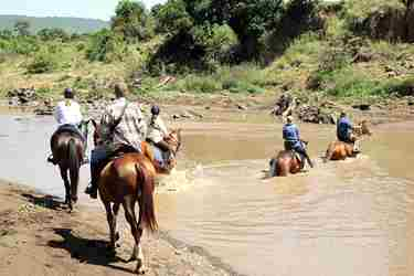 offbeat mara horse riding safaris kenya yellow zebra safaris