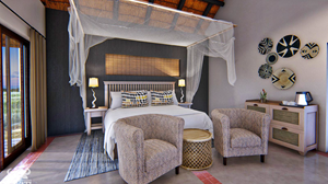 Inyanti Game Lodge bed room 2