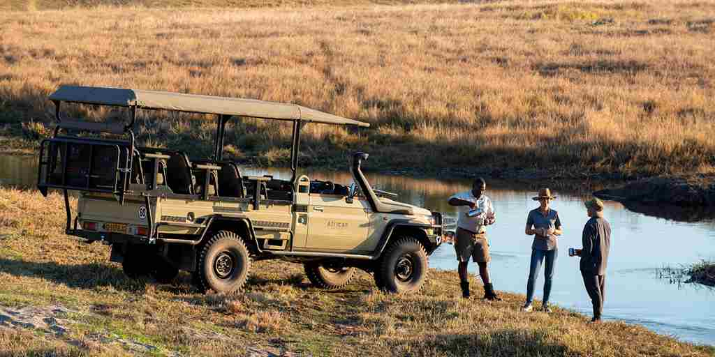 Linyanti Expeditions Game Drive botswana
