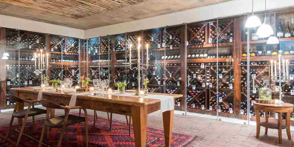 wine cellar grootbos forest lodge south africa yellow zebra safaris