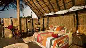 Tafika Camp chalet honeymoon suite zambia yellow zebra safaris