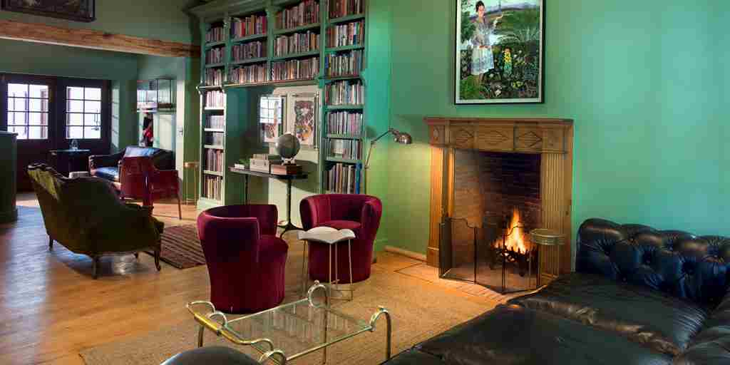 9.Library of farmhouse on a cosy wintry evening 2.jpg