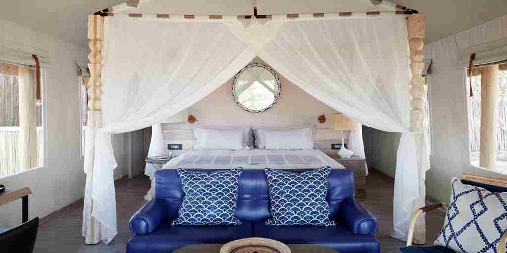 belmond savute elephant lodge botswana bedroom yellow zebra safaris