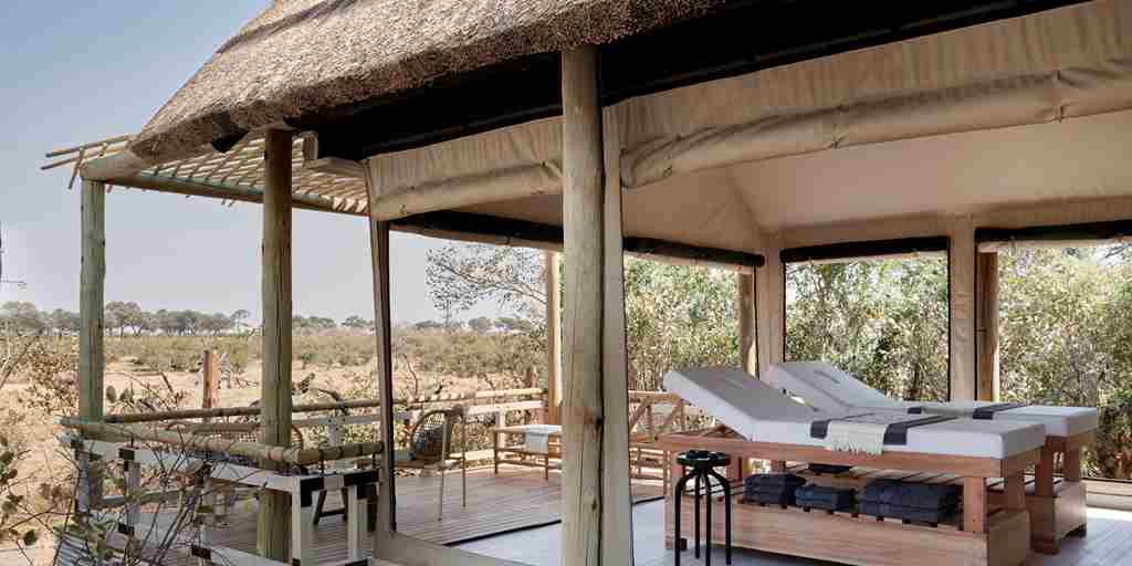 belmond savute elephant lodge botswana decking yellow zebra safaris