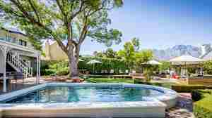 swimming pool macaron boutique guest house south africa yellow zebra safaris