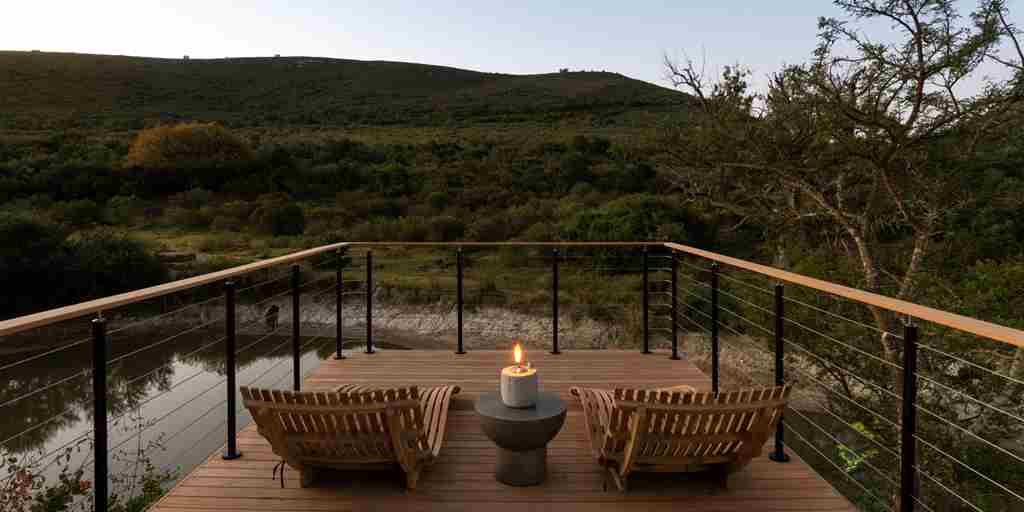 shamwari bayethe lodge south africa decking yellow zebra safaris
