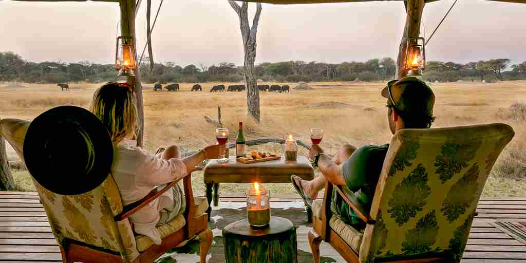 the private hide chairs zimbabwe yellow zebra safaris