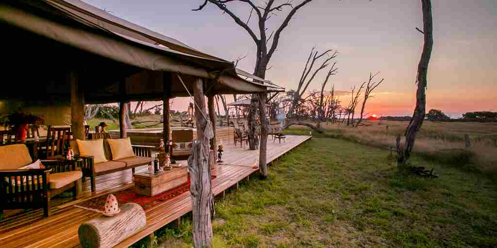 the private hide decking zimbabwe yellow zebra safaris